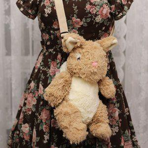 Bunny Crossbody Bag - Caramel